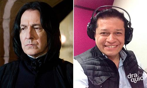 Carlos Segundo como la voz de Severus Snape en algunas películas de la franquicia Harry Potter