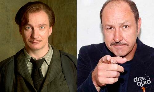 Rodrigo Murray como la voz de Remus Lupin en Harry Potter y El Prisionero de Azkaban