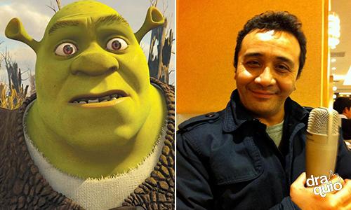 Alfonso Obregón la voz de Shrek en la franquicia de Shrek