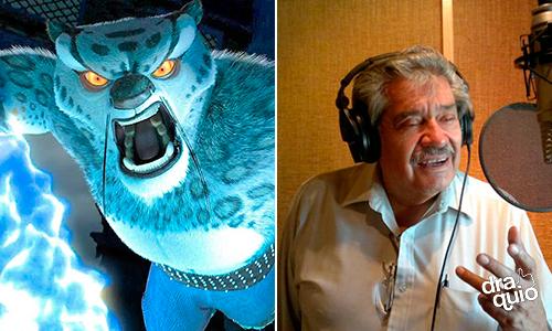 Blas Garcia la voz de Tai Long en las películas de Kung Fu Panda